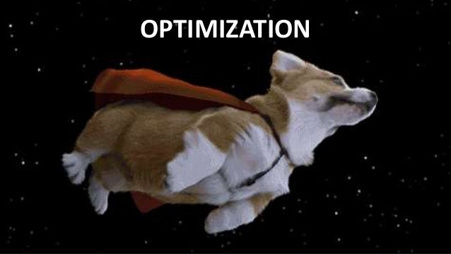 #SearchLove @goutaste OPTIMIZATION