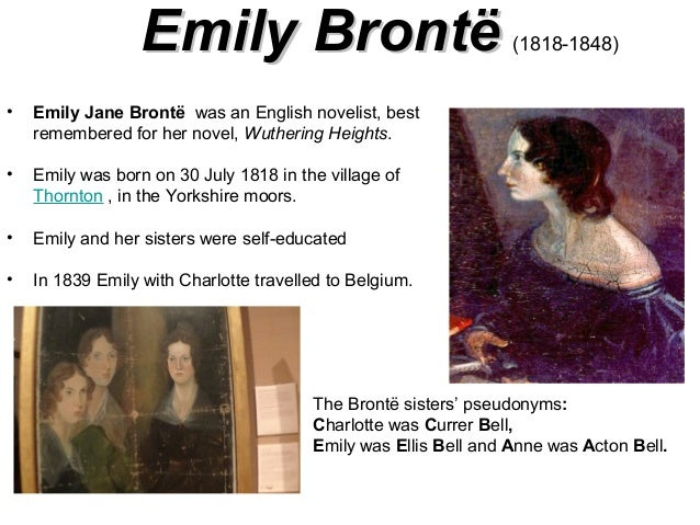 biographers noted emily brontes closeness to solitude and confinement