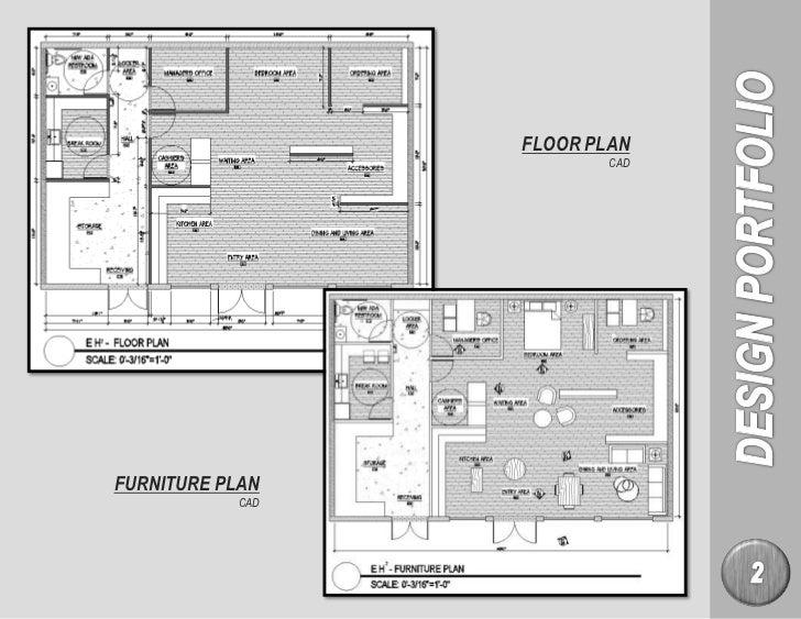 4 FLOOR PLAN CADFURNITURE