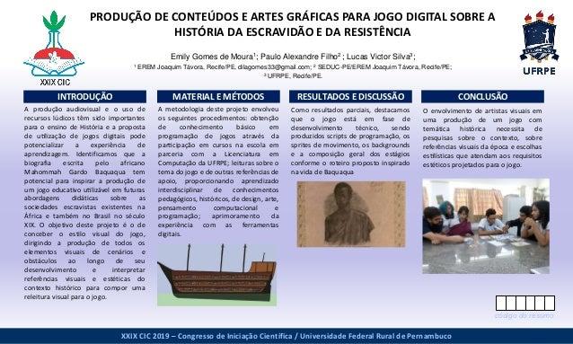 www.postersession.com A metodologia deste projeto envolveu os seguintes procedimentos: obtenção de conhecimento básico ...
