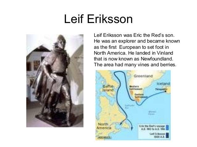 Leif Erikson Leif Erikson