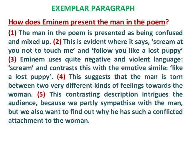 poetry analysis paragraph example