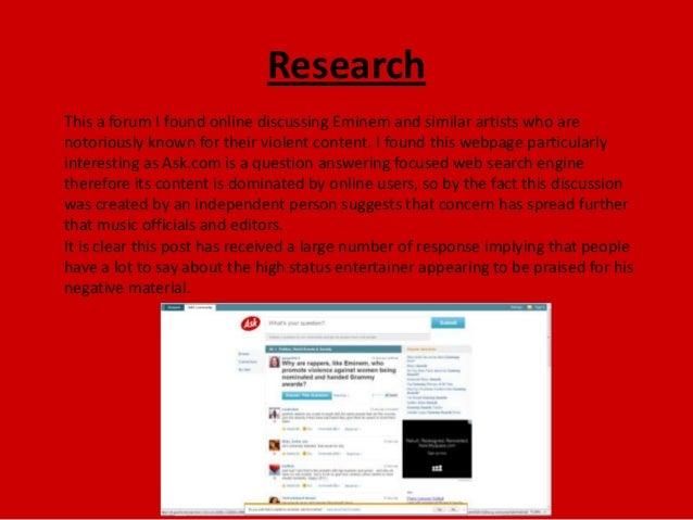 eminem research