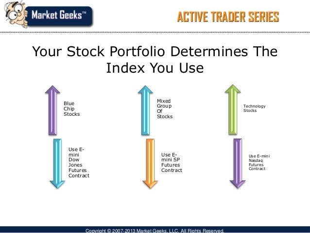 Single stock futures trading strategies