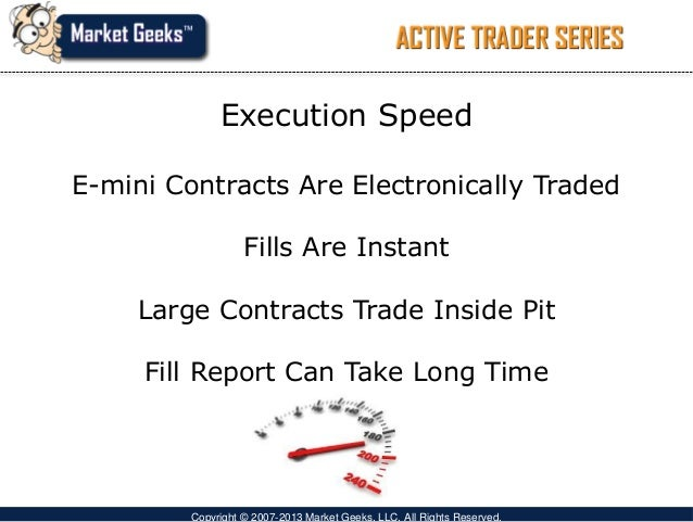 Futures Pit Trading Hours