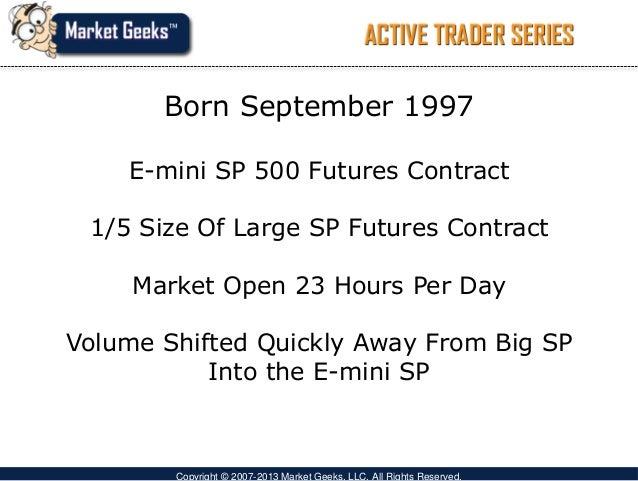 Es emini trading strategies
