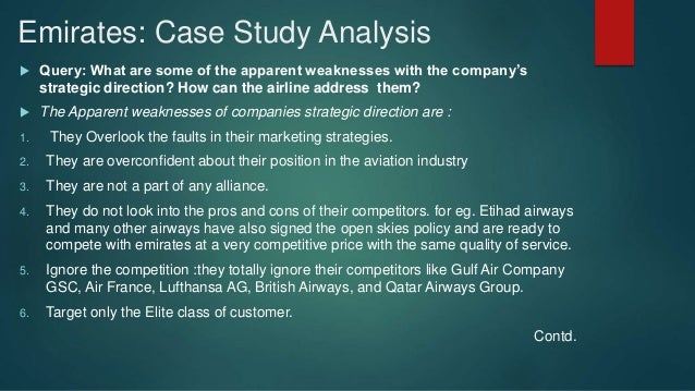 emirates airlines marketing case study