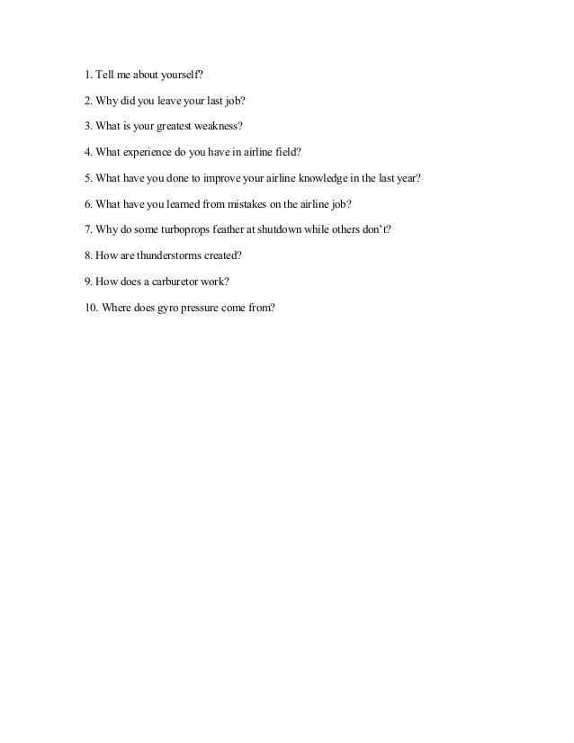 Emirates airline interview questions and answers