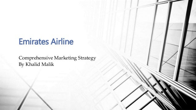 Pricing strategy of emirates airline