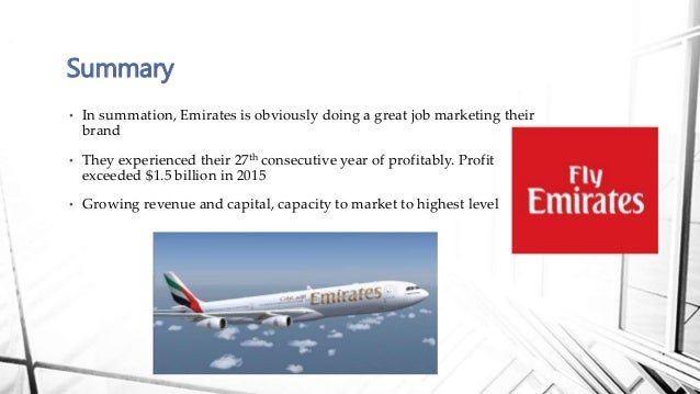 marketing plan for emirates airline Air leo airline business plan strategy and implementation summary which means the new airline - again, as part of its marketing strategy and offering a higher level of concern for the traveler - should avoid the common and much detested practice of overbooking.
