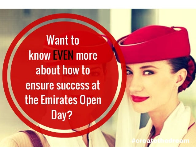 Emirates careers : How to ensure success at the Cabin Crew