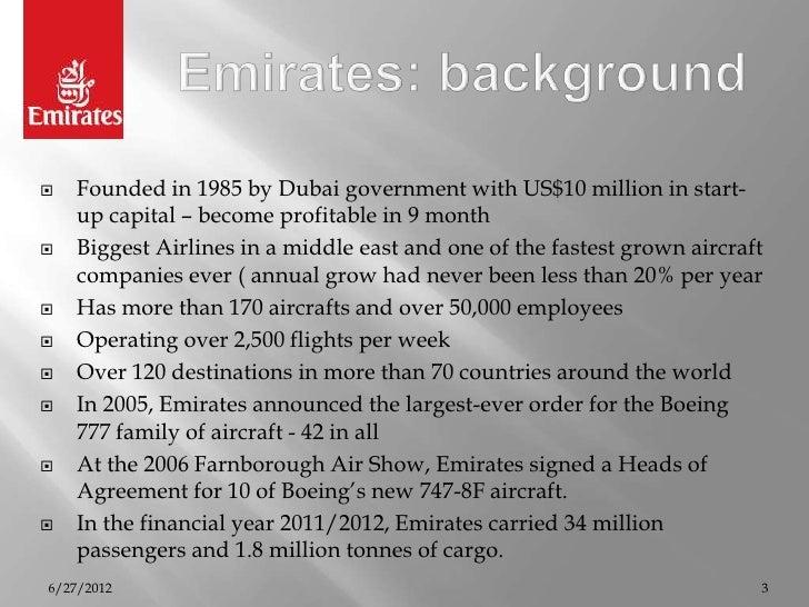 Emirates consumer  behaviour anaysis Slide 3