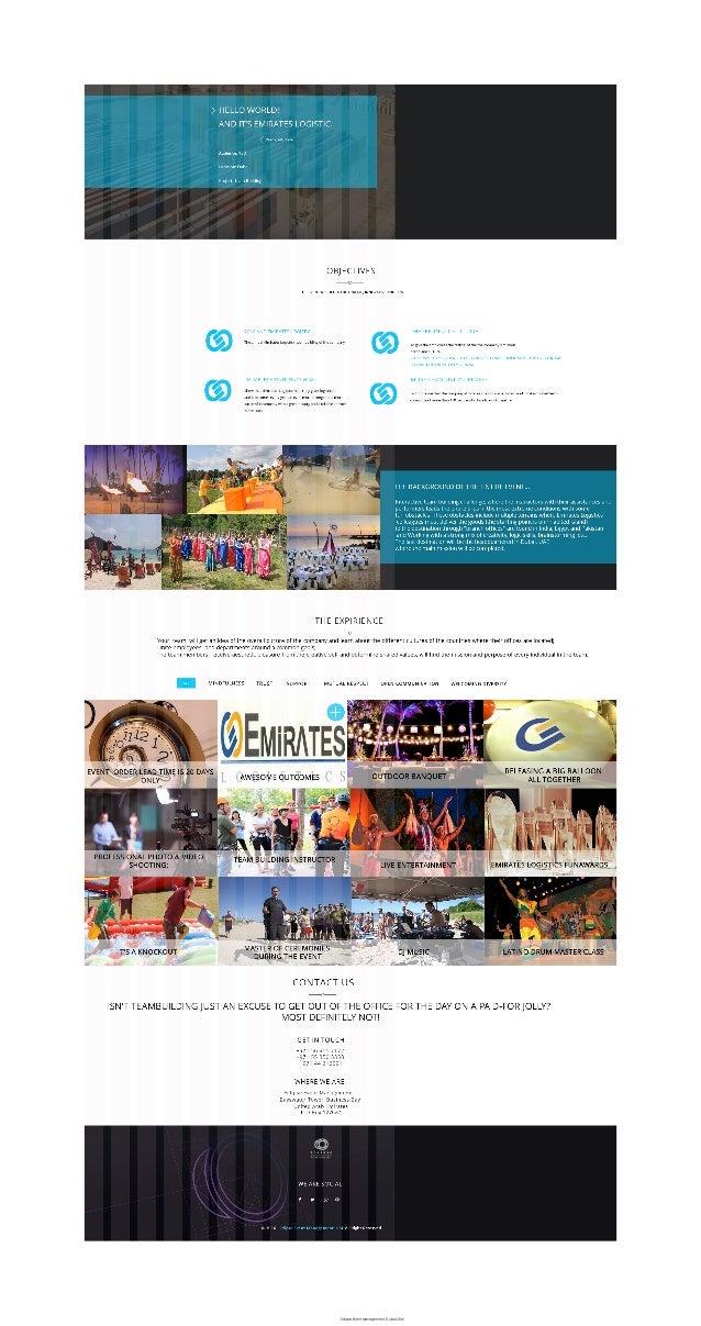 Eclipse Event Management, Dubai 2016