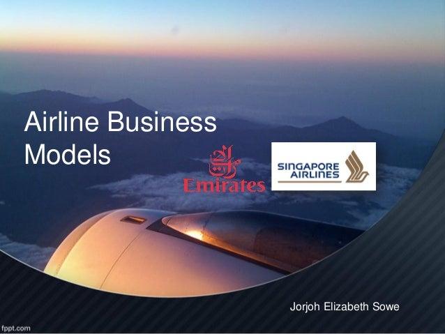 Airline BusinessModels                   Jorjoh Elizabeth Sowe
