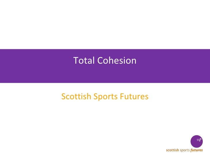 Total Cohesion Scottish Sports Futures
