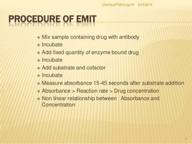 Drugs of Abuse Assays