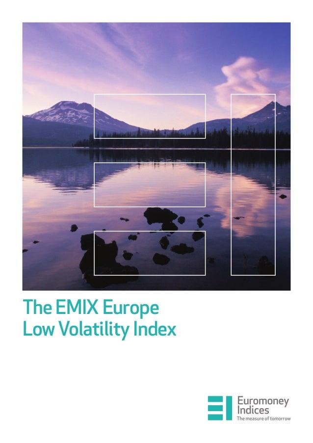 The EMIX Europe LowVolatility Index