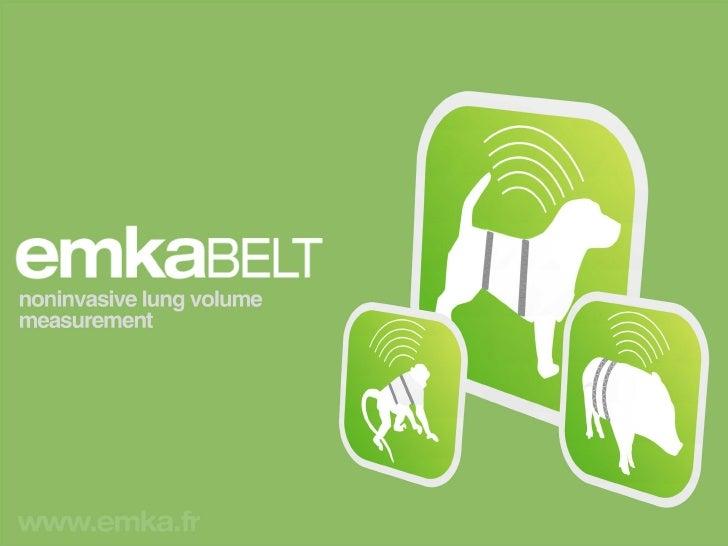 emka TECHNOLOGIES - Telemetry - emkaBELT noninvasive telemetry respiration measurement system