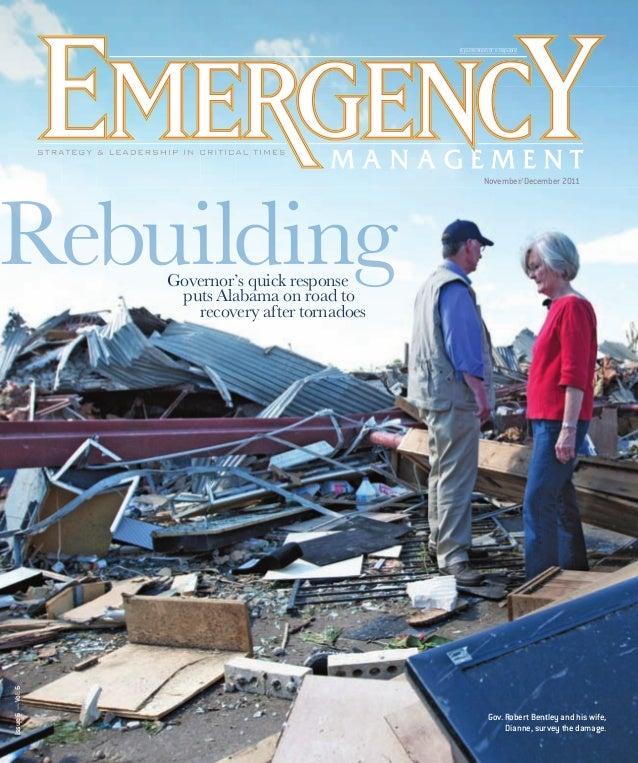 A publication of e.Repu publication e Republic  November/December 2011  Issue 6 — Vol. 6  Governor's quick response puts A...