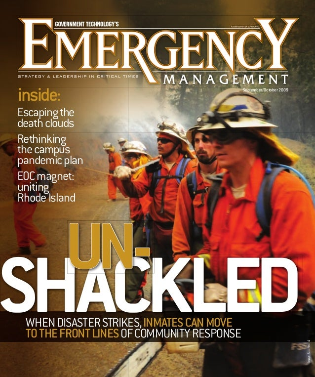 inside:  September/October 2009  Escaping the death clouds Rethinking the campus pandemic plan EOC magnet: uniting Rhode I...