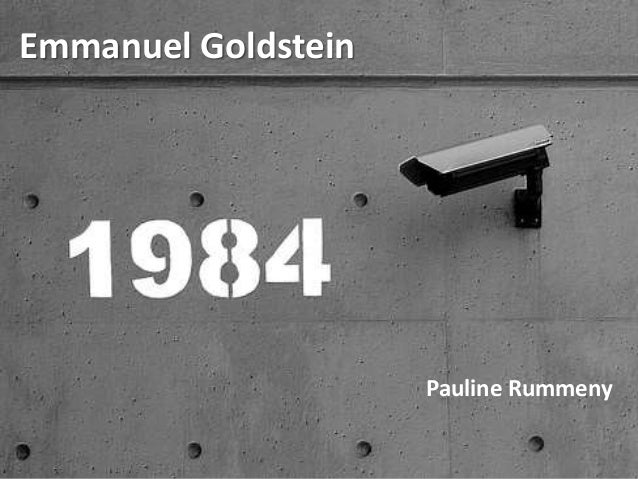 Emmanuel Goldstein Pauline Rummeny