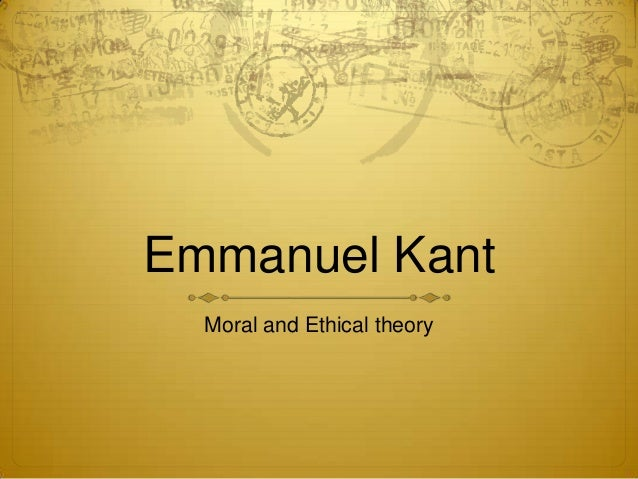 emmanuel kant feminist ethics and the The ethical theory of immanuel kant (b 1724–d 1804) exerted a powerful influence on the subsequent history of philosophy and continues to be a dominant approach to ethics, rivaling consequentialism and virtue ethics kant's ethical thought continues to be studied in itself, as a part of his critical system of.