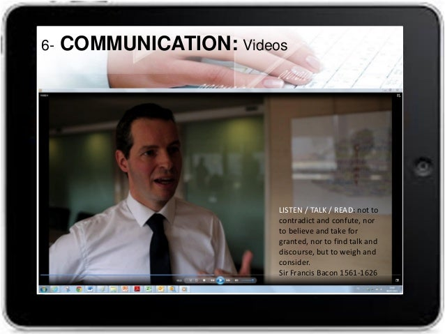 strong communication skills, both written and oral in English 6-COMMUNICATION: Radio program special guest https://www.you...