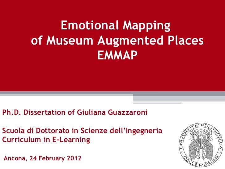 Ancona, 24 February 2012 Ph.D. Dissertation of Giuliana Guazzaroni Scuola di Dottorato in Scienze dell'Ingegneria  Curricu...