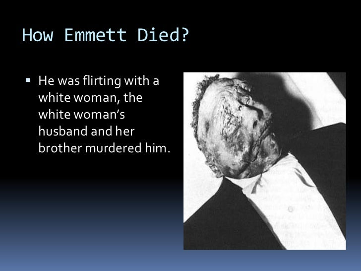 emmett till james emanuel Of course, james emanuel was a black poet,  for example, have heard of the story of emmett till, a boy who was killed for possibly flirting with a white woman,.