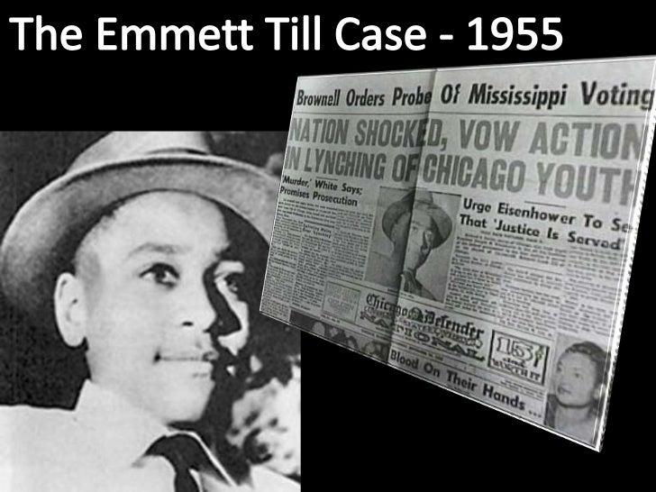 The Emmett Till Case - 1955<br />