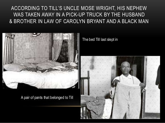 The Murder Of Emmett Louis Till