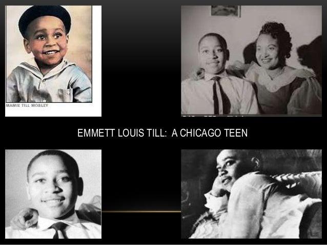 The Murder Of Emmett Louis Till