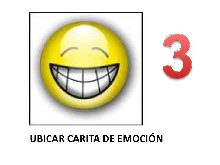 UBICAR CARITA DE EMOCIÓN