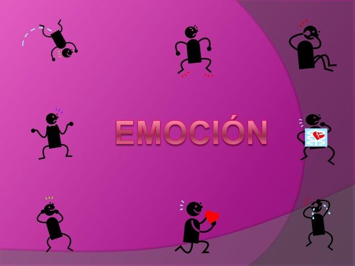 emoción<br />