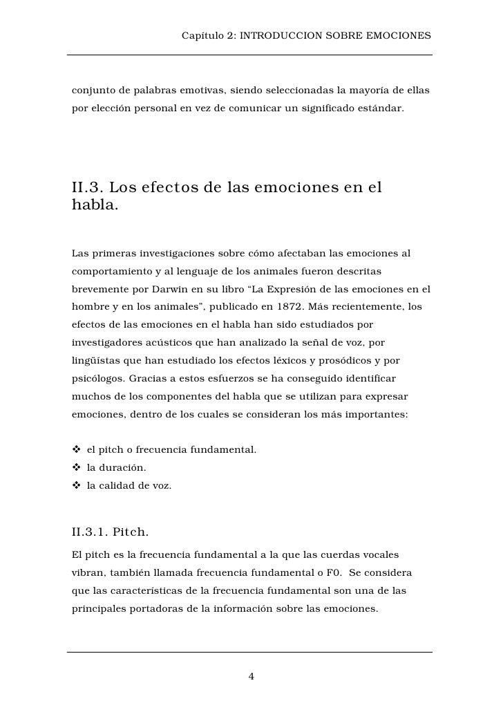 Capítulo 2: INTRODUCCION SOBRE EMOCIONESconjunto de palabras emotivas, siendo seleccionadas la mayoría de ellaspor elecció...