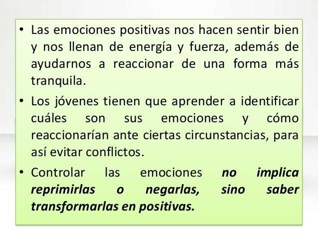 Emociones - Energias positivas y negativas ...