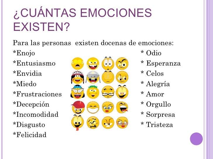 Emociones Y Estados De Animo