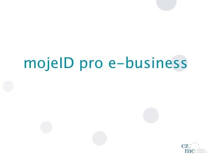 mojeID pro e-business