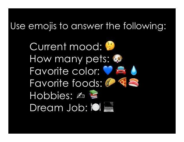 Why should we learn English? (Interpret the emoji reasons)