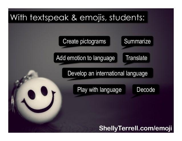 Translate Decode Summarize Play with language Create pictograms Develop an international language Add emotion to language ...
