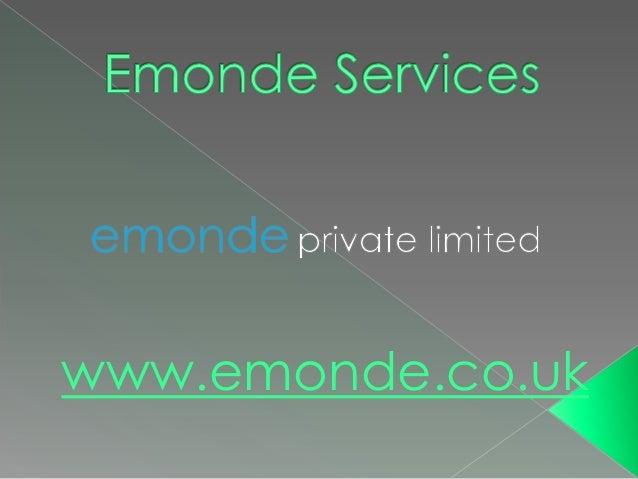 www.emonde.co.uk