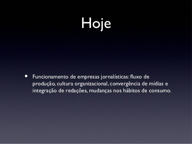 Jornalismo Especializado Slide 2