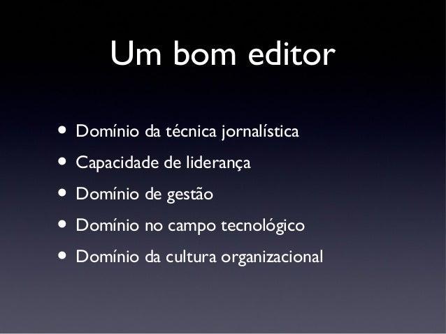 Jornalismo Especializado Slide 3