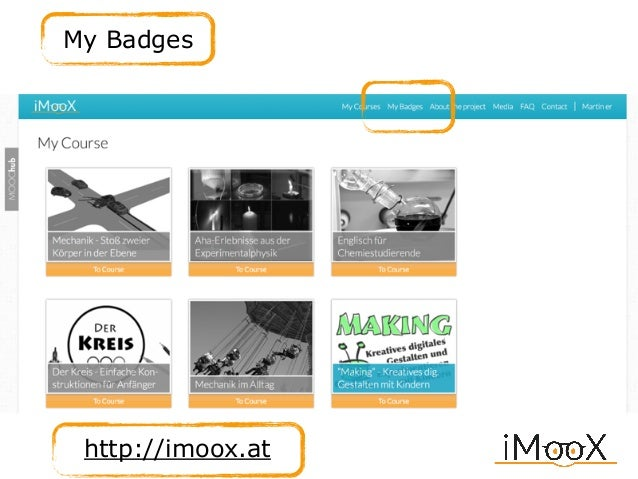 http://imoox.at My Badges