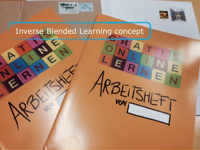 Inverse Blended Learning concept