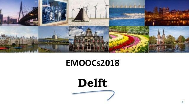 1 Delft EMOOCs2018