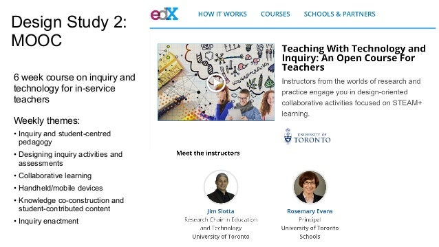 A principled approach to the design of collaborative MOOC curricula Slide 3