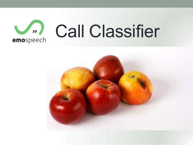 Call Classifier