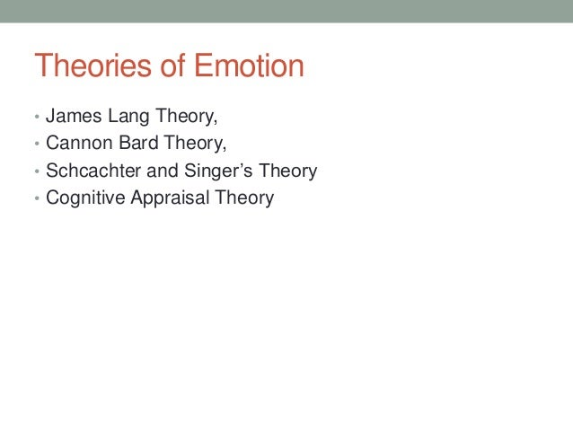 what is the cannon bard theory of emotion