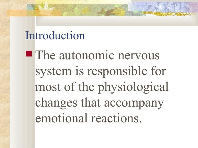  ANS is the part of the peripheral nervous system that carries information between the brain and all organs of the body. ...
